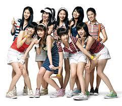 韓国・少女時代の過去の流失画像